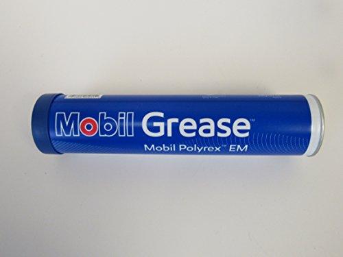 Mobil polyrex em electric motor bearing grease blue 13 7 for Grease for electric motors