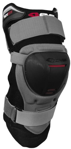 (EVS SX01 Adult Off-Road Motorcycle Knee Brace - Black/X-Large)