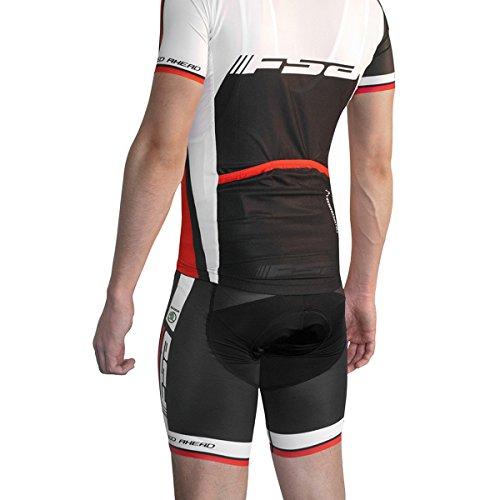 d6fe924f3b13f Full Speed Ahead FSA Men s Nalini ProFit Cycling Bib Short - CL-Bibs  (Black White Red - XXL)