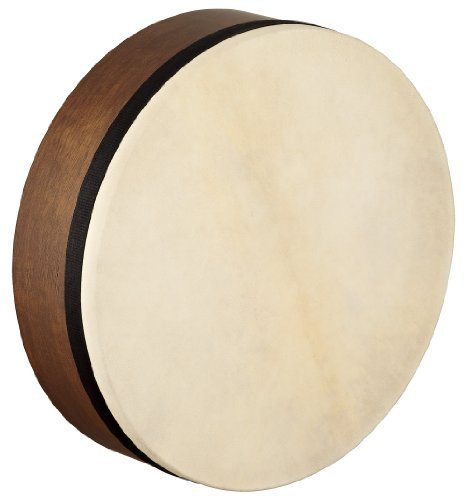 Meinl Percussion AE-FD14T Artisan Edition Tar with Hand Selected Goat Skin Head, Walnut Brown 14-Inch