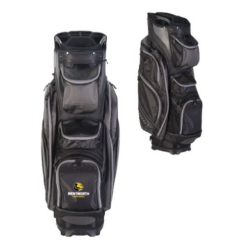 Wentworth Callaway Org 14 Black Cart Bag 'Official Logo' by CollegeFanGear