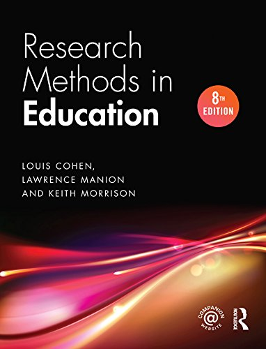 Research Methods In Education  English Edition