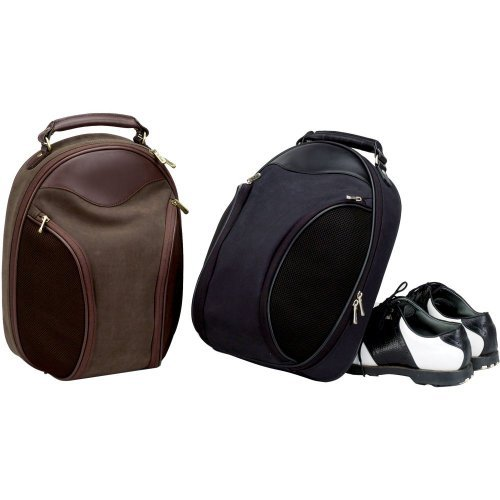 Vintage Golf Shoe Bag - BROWN by Superdeals Store