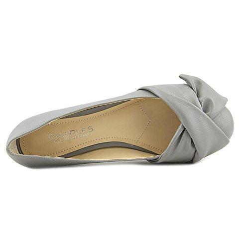 Charles Di Charles David Womens Darcy Ballet Flat Slate Smooth