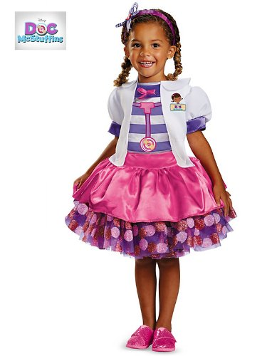 Disguise Disney Doc Mcstuffins Tutu Deluxe Toddler Costume