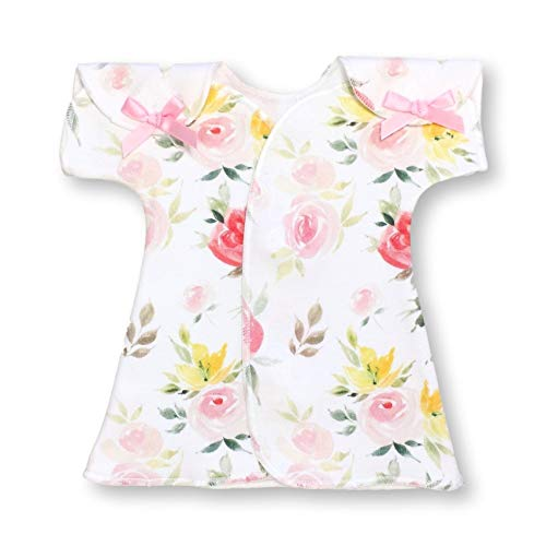 | NICU Girls Clothes | Preemies Dress by Itty Bitty Baby | Watercolor Floral