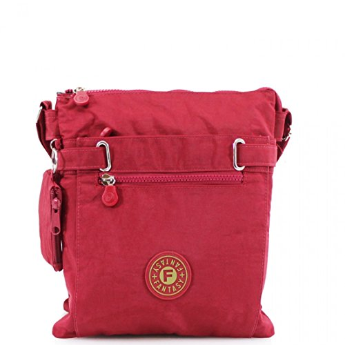 LeahWard Body 108 Shoulder Women's Canvas Holiday Cross Bags Red qxrqSgRwX