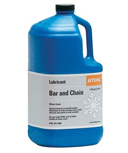 Stihl Winter Grade Bar and Saw Chain Lubricant - 1 Gallon - 0781 516 4002 by Stihl