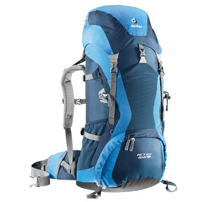 Deuter Women's ACT Lite 60+10 SL (Midnight/Coolblue), Outdoor Stuffs