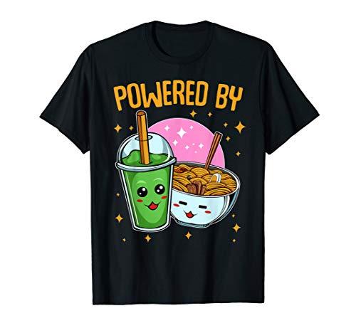 Ramen Bubble Tea Japanese Tasty Ramen Noodles Lover T-shirt