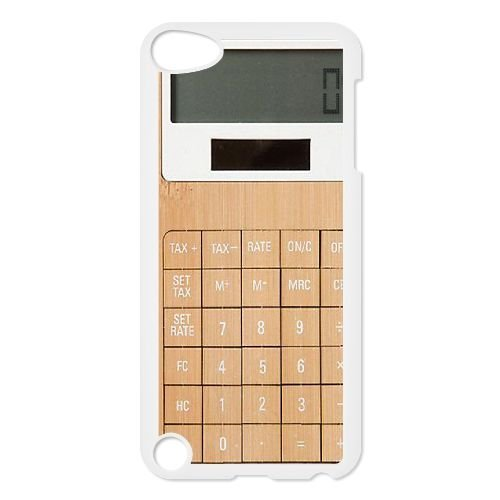 Custom Calculator Back Case for iPod touch5, Personalized Calculator Touch 5 Hard Back Case, Calculator iPod Phone Case