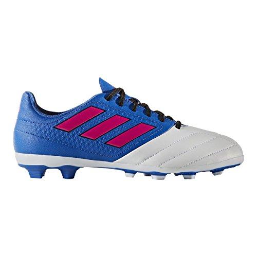 Adidas ACE 17.4 FxG J, BB5593, Fußballschuhe für Kinder, Blue/Shockpink/White, Gr. 31