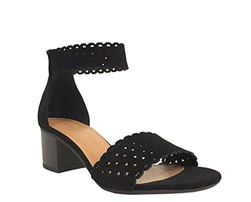 vesta-city-classified-womens-perforated-ankle-strap-block-heel-sandals-black-nubuck-leatherette-10-m