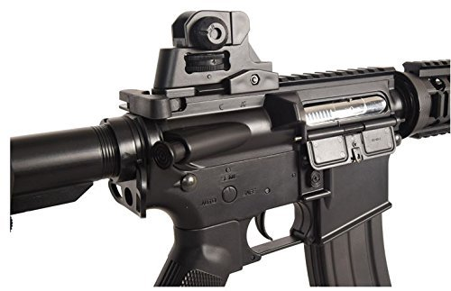 Lancer Tactical Full Metal Gear with Rail Interface System Polymer Body LT-02B by Lancer Tactical
