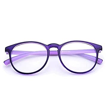 85cd580309a Image Unavailable. Image not available for. Color  Jcerki Purple frame  Bifocal Reading Glasses 2.50 Strengths Men ...