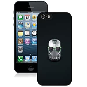 Personalized Phone Case Design with Iron Man Helmet Summer Glasses iPhone 5s Wallpaper