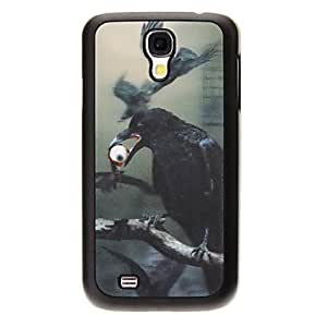 JJE Horrible Hawks 3D Changing Pattern Protective Plastic Hard Back Case Cover for Samsung Galaxy S4 I9500