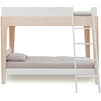 Amazon Com Oeuf Perch Bunk Bed In White Birch Kitchen