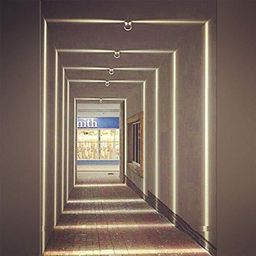 LED Window Light, Corridor Garage Door Frame Lighting, 10 Watt, Warm White 3000K, 900 Lumens Residential & Commercial Sconce Lighting, Outdoor Waterproof Landscape Lamp, 1 Pack by inShareplus (Image #4)
