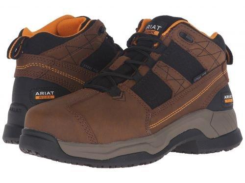 Ariat(アリアト) レディース 女性用 シューズ 靴 ブーツ 安全靴 ワークブーツ Contender ST Brown [並行輸入品] B07BR13BPL 10 B Medium