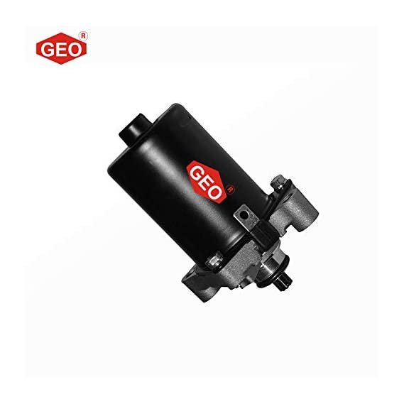 GEO Self Starter Motor Assembly for Motorcycle & Scooters (Honda Activa 2G)