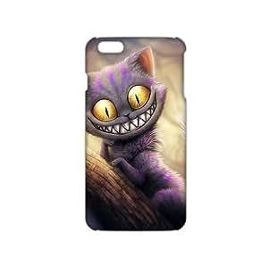 alice in wonderland cat 3D Phone Case for iPhone 4 4s