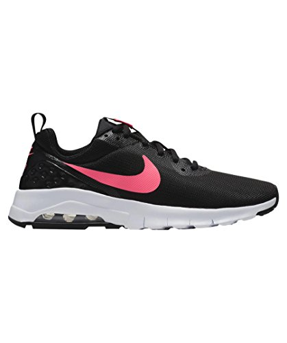 Nike Air Max Motion LW (GS), Zapatillas de Trail Running Para Mujer, Negro (Black/Racer Pink/White 001), 38.5 EU