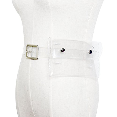 Naimo Holographic Transparency Fanny Waist Pack Belt Waist Bum Bag Outdoor Mini Phone Bag Coin Bag by Naimo (Image #4)