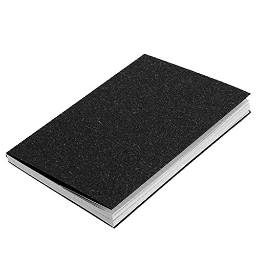 MorySong Classic Notebook Dairy Journal, Size: 7.48X5.11 inch, Squared Grid Page, 116 Pages, Quality Paper-100gsm Black