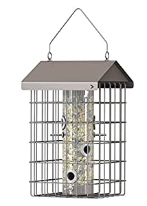 """The Nuttery Hotel Seed Feeder-15.2""""H X 9.3""""W X 9.6""""D"""