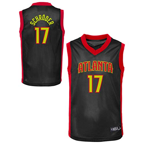 (Outerstuff NBA Toddler Team Color Player Name & Number Replica Road Jersey (2T, Dennis Schroder Atlanta Hawks) )
