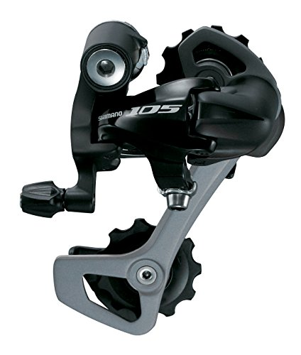 - SHIMANO RD-5701 Road bike Derailleurs black (Design: medium long cage, 11-32 sprockets)