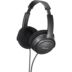 Sony MA Series Stereo Headphones, Super Lightweight with Wide Adjustable Headband, Supra-Aural Ear-Cup with Open Air Design, and Features Large 40mm Drivers, A 2.0 Meter, Y-Type Cable Lets You Connect To Various Audio Devices, Computers, and Home Audio Gear