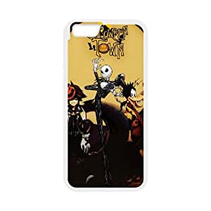 iPhone 6 Plus 5.5 Inch Cell Phone Case White Kingdom Hearts Halloween Town Phone cover P553391