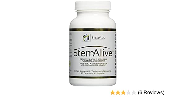 Amazon.com: 1 Bottle 90 Caps. STEM ALIVE **AUTHENTIC ** MADE in the USA** Natural Supplement for the Proliferation and Release of Stem Cells: Health ...