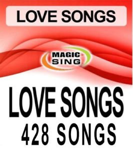 Love song chip for Magic Sing Karaoke Microphones - 428 songs