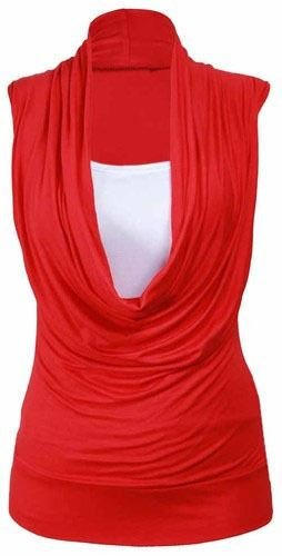FAIRIES Femme Rouge Pull Rouge FASHION 7zdqCq