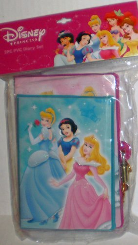 UPC 079522128363, Disney Princess PVC Diary & Address Book Set