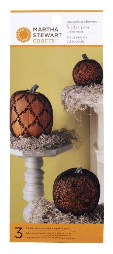 Martha Stewart Crafts Pumpkin Sleeve, Haunted