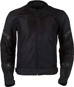 Pilot Motosport Men's Slate Air Jacket (Black, Large)