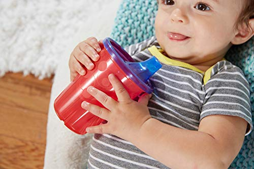 41Hvg32sTjL - The First Years Take & Toss Spill Proof Sippy Cups Value Pack, Rainbow, 20-Pieces