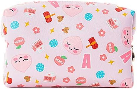 化粧品袋 ポータブル大コスメティックバッグ軽くて丈夫なトラベルコスメティックバッグ多機能化粧品収納袋 旅行化粧収納ボックス (Color : Pink)