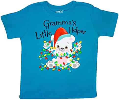Inktastic Papa/'s Little Helper Toddler T-Shirt Papa Gift From Grandson For Tools