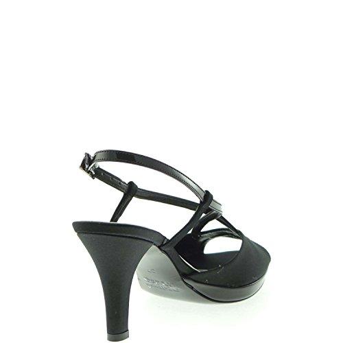 Melluso Vestir Negro Para De Sandalias Mujer AaxrATz