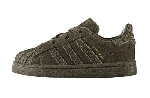 – 0 Bimbi Adidas I olitra Superstar Unisex 24 Olitra Sneaker Verde 000 xqnwBIpw