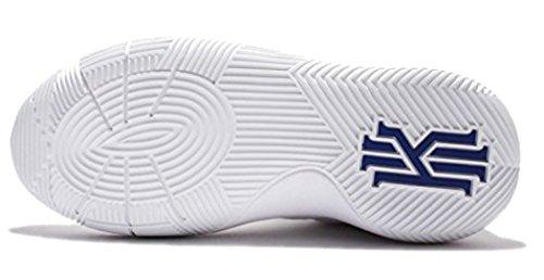 Nike Grunnskolen Gutter Kyrie 2 Basketball Sko Hvit / Universitet Rød-dp Ryl Bl