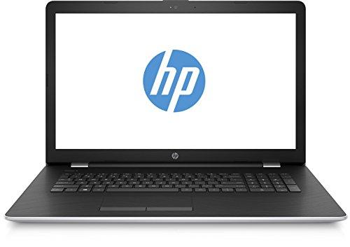 HP 17-bs049ng 2CP88EA 43,9 cm (17,3 Zoll/HD+) Laptop (Intel Core i3-6006U, 8GB RAM, 256GB SSD, AMD Radeon 520 Grafikkarte, Windows 10 Home 64) silber/schwarz