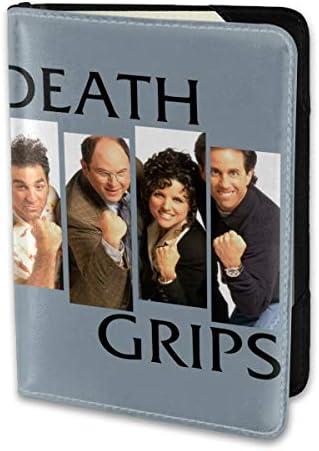 デス・グリップス Death Grips パスポートケース パスポートカバー メンズ レディース パスポートバッグ ポーチ 携帯便利 シンプル 収納カバー PUレザー収納抜群 携帯便利 海外旅行 出張 小型 軽便