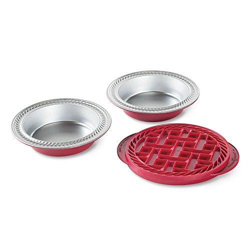 Nordic Ware Mini Pie Baking Kit (Tin Plate Quiche Pan)