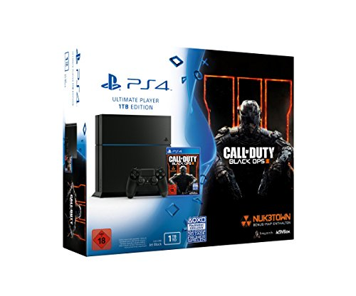 PlayStation 4 - Konsole (1TB) inkl. Call of Duty Black Ops III [CUH-1216B]